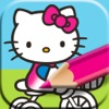 Kids Coloring with Hello Kitty