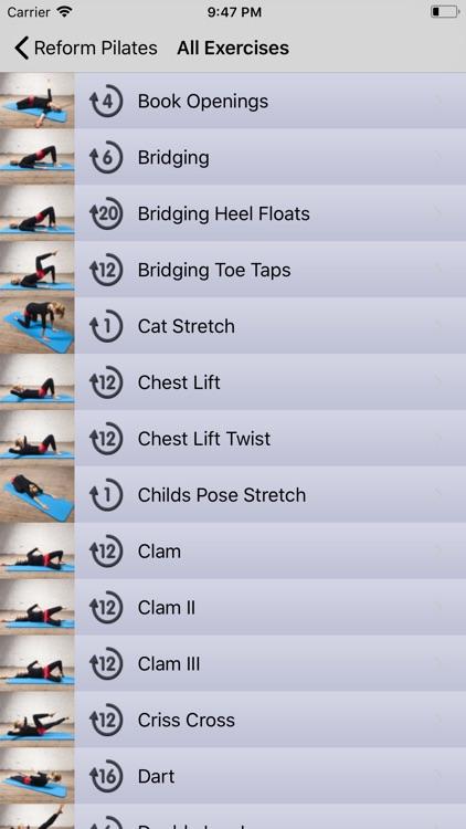 Postnatal Pilates by Reform screenshot-5