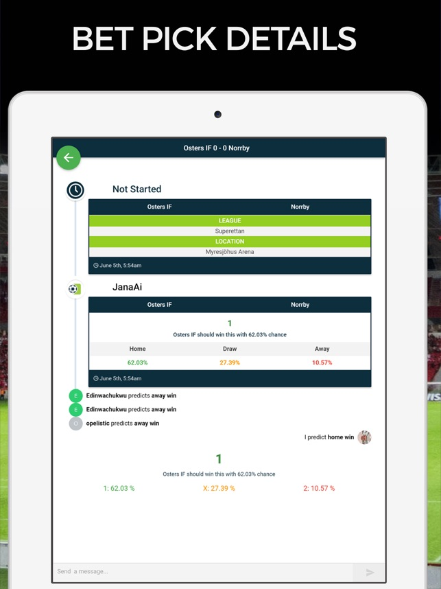 Soccer Predictions Football AI on the App Store