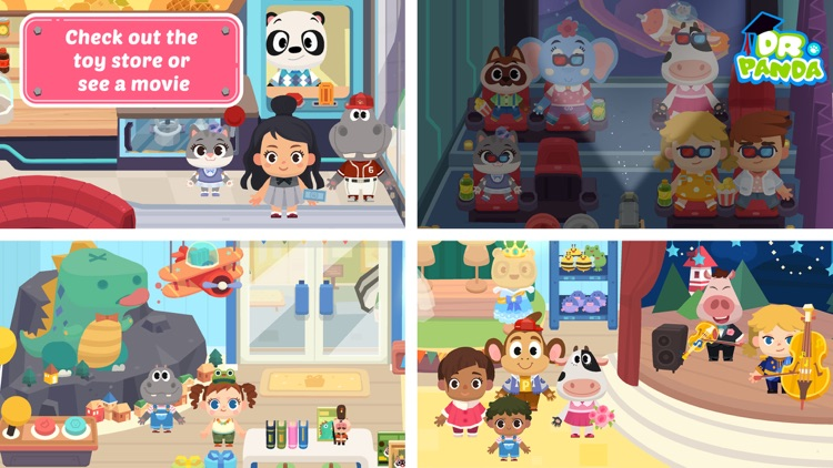 Dr. Panda Town: Mall screenshot-4