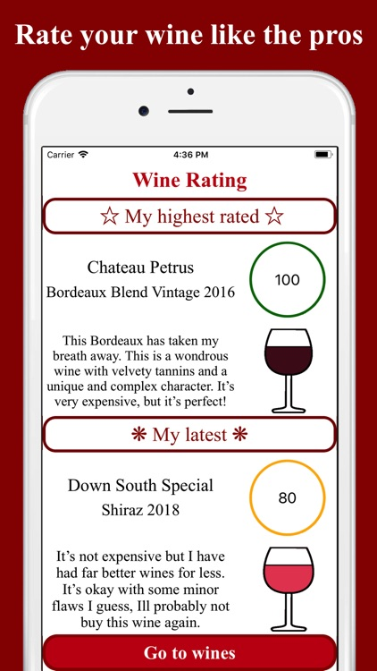 Red Wine Rating