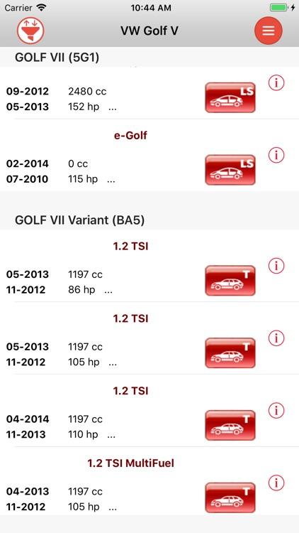 AutoParts   VW Golf V-VII