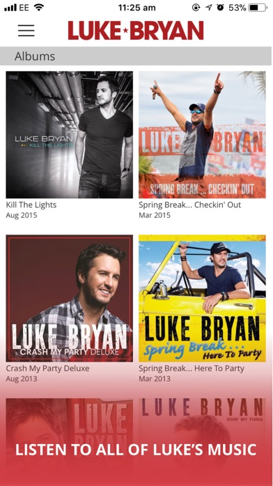 download Luke Bryan apps 4