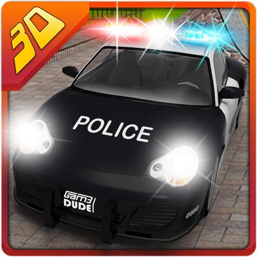 3D警察カーレーススタント - クレイジーシミュレーターに乗るとシミュレーションアドベンチャー