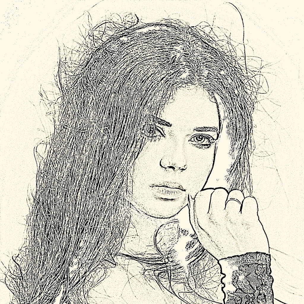 Pencil sketch art popular apps