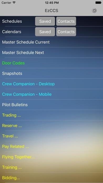 EzCCS app image