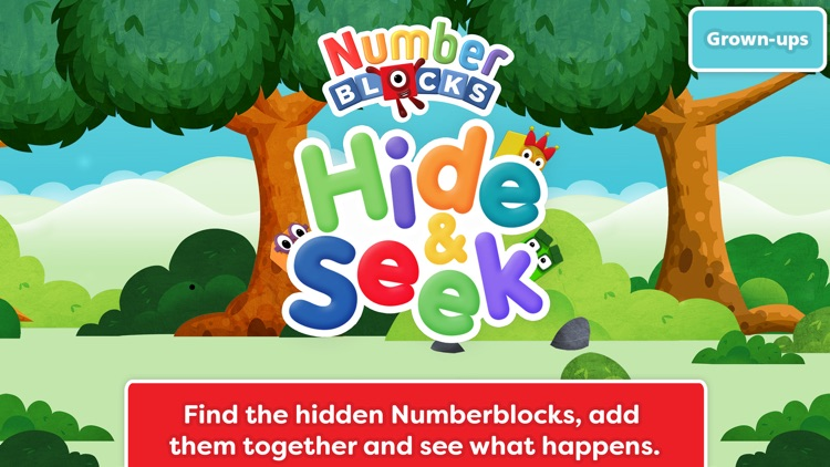 Numberblocks Hide and Seek screenshot-0