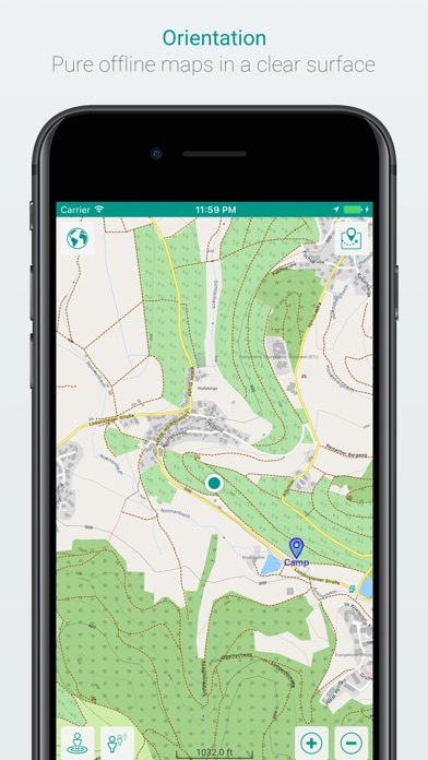 mAPP - Offline Mapping App iPhone