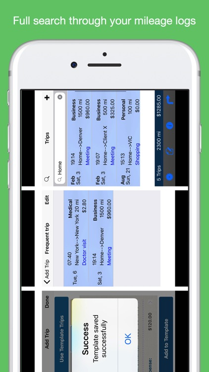 Auto Mileage Logbook TrackerHD screenshot-7