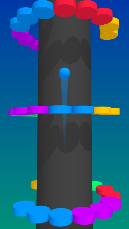 Color Balls Climb- Jump Up screenshot-2