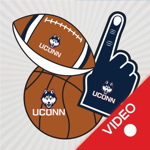UConn Huskies Animated Stikis