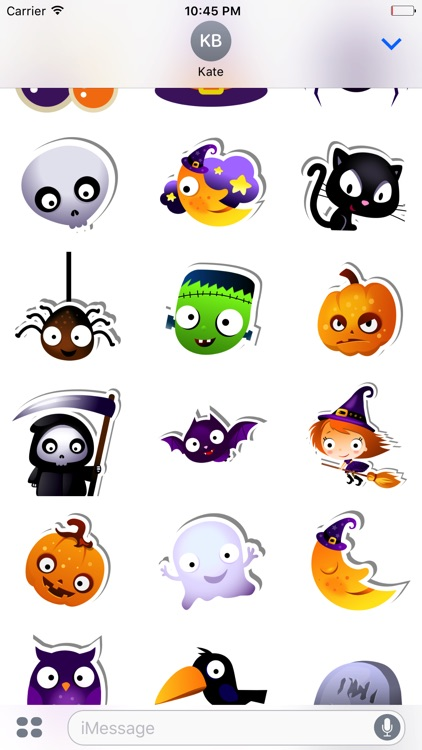 Halloween elements sticker
