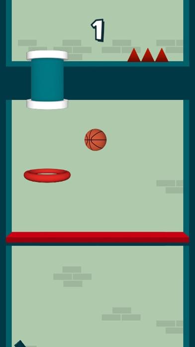 Dunk The Hoops - Bouncy Ball screenshot three