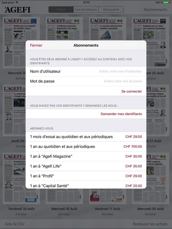 L'Agefi - Genève Скриншоты5