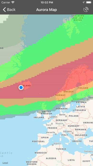 My Aurora Forecast Pro Screenshot 2