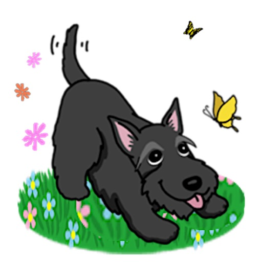 Scottish Terrier Dog Stickers