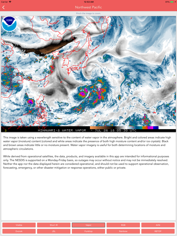 Typhoon Tracker (台風 태풍 台风) screenshot 12