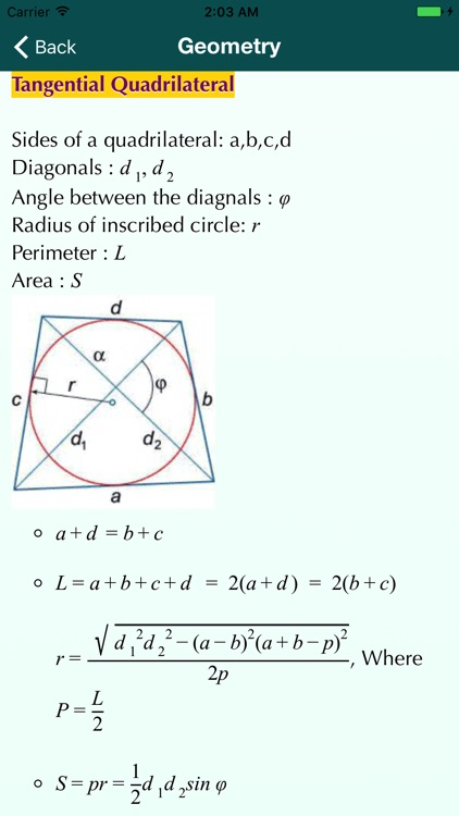 Math Formulas guide screenshot-3