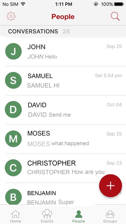 HowdyDo Messenger-Chat