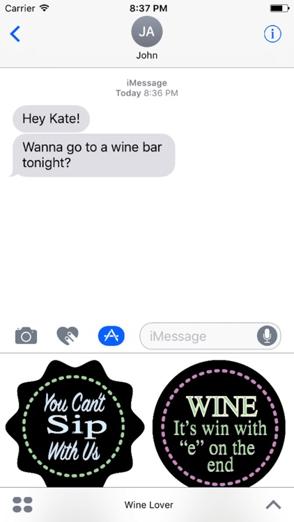 Wine Lover Sticker Pack