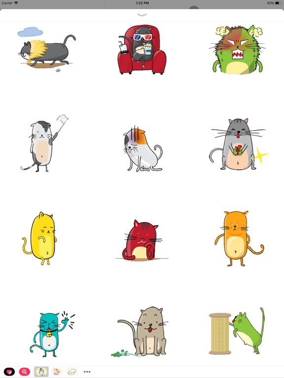Ipad Screen Shot Funny Neko Cat Animated 0
