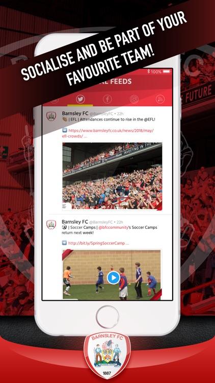 Barnsley FC Fan App screenshot-3