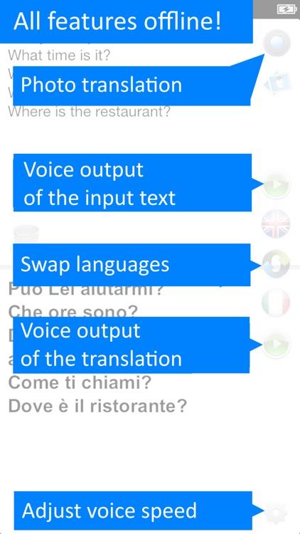 Offline Translator: Italian