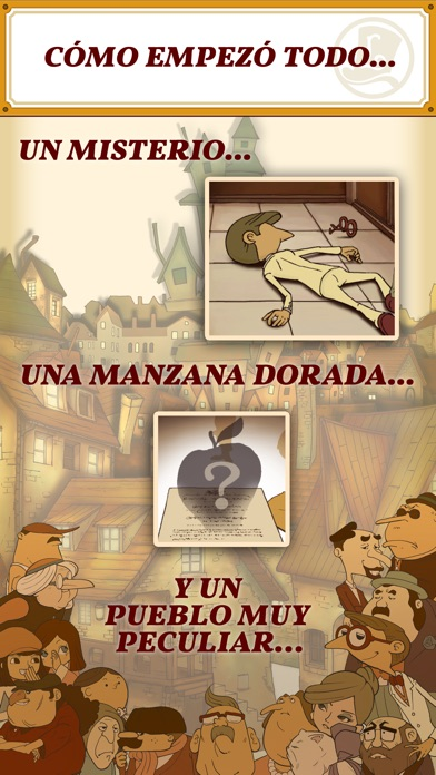 Screenshot for Layton: la villa misteriosa HD in Colombia App Store
