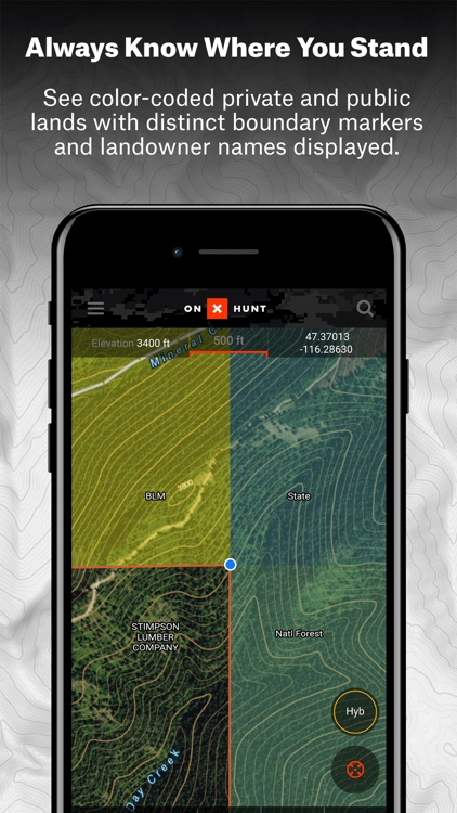 onX Hunt: #1 GPS Hunting App