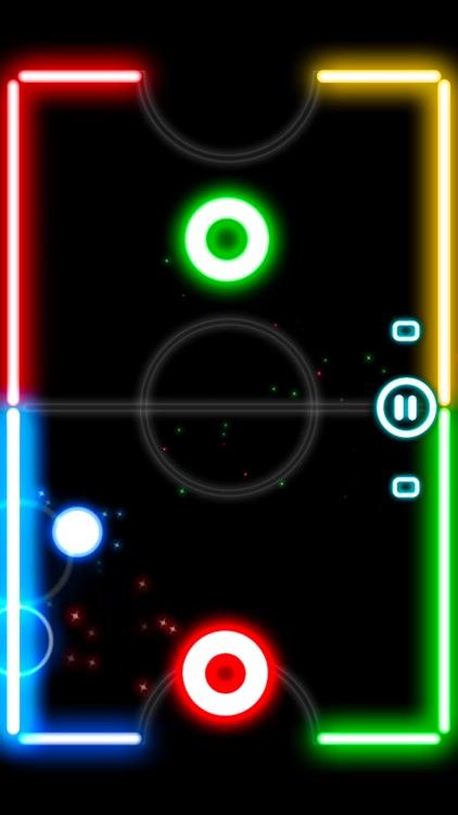 Glow Hockey 2L screenshot-0