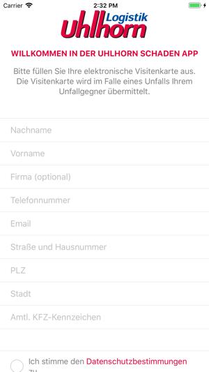 Aplikacja Uhlhorn Schadenapp W App Store