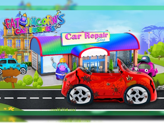 Mr. Fat Unicorn Car Mechanic screenshot 8
