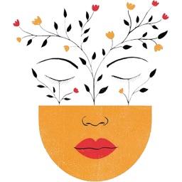 Mindfulness Meditation Yoga Sticker Pack