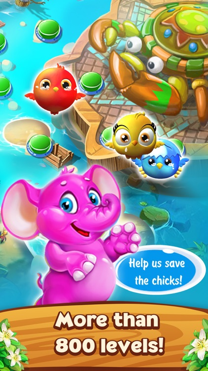 Bubble Tale: Friends Story screenshot-3