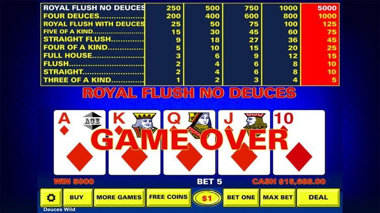 Video Poker - Casino Style screenshot-4