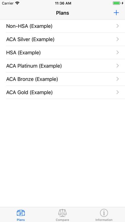 Healthcare Plan Compare screenshot-3