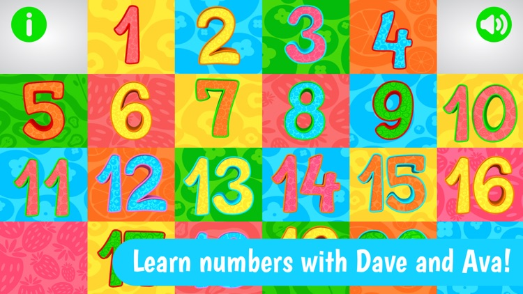 Numbers from Dave and Ava screenshot-0