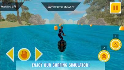 Water Surfing Board: Rider Sim screenshot one