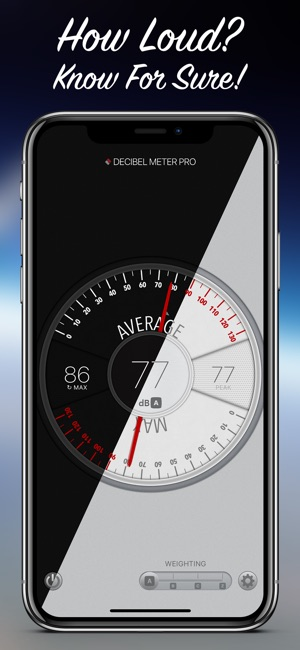 iphone decibel meter decibel meter pro on the app 11790