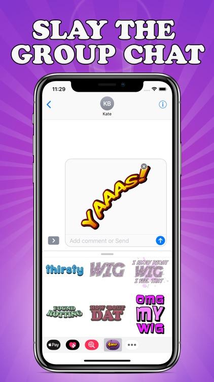 Sass Stickers screenshot-9