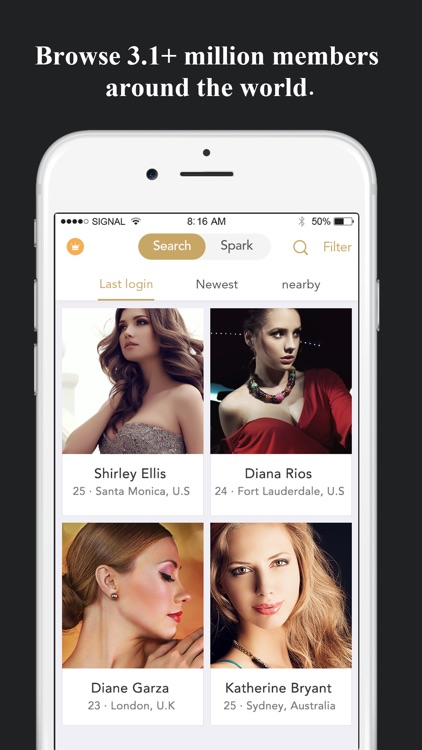 iPhone dating app London