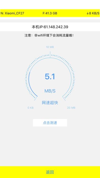 Net Lite-网速展示流量统计测网速工具