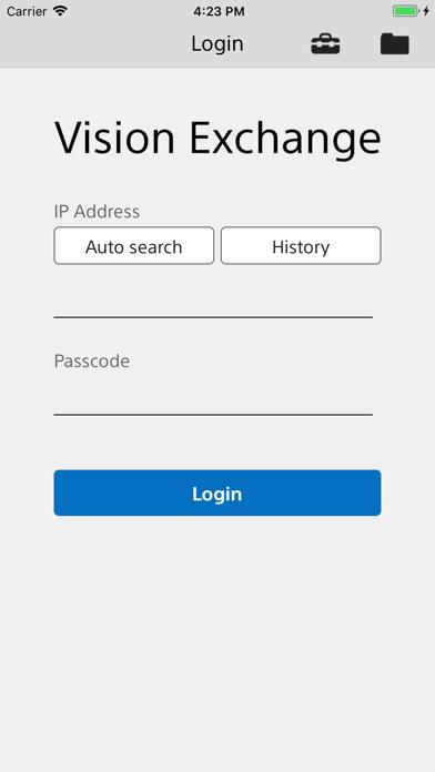 Vision Exchange App for Windows