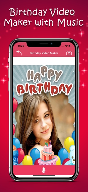 App Store Happy Birthday Video Maker