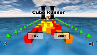 Cube Runner II screenshot one