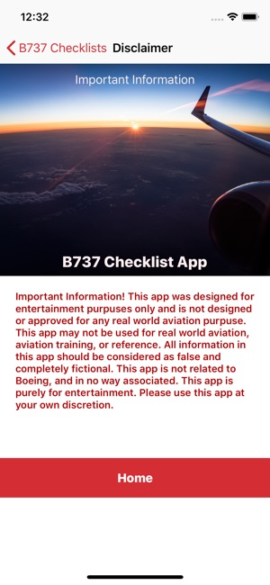 B737 Checklist on the App Store