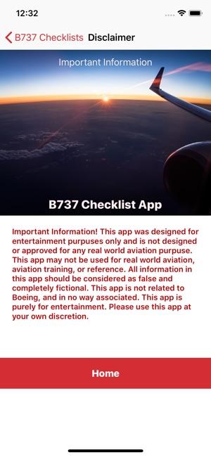 B737 Checklist on the App Store