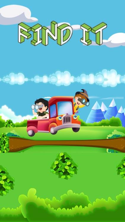 Find It! Road Trip Game