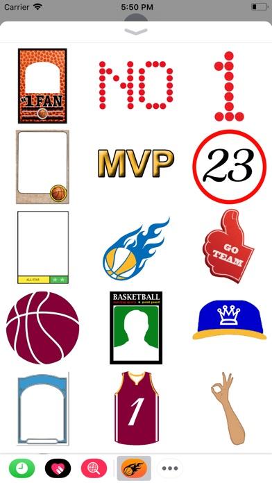 Basketball Hoops Sticker Packのスクリーンショット4