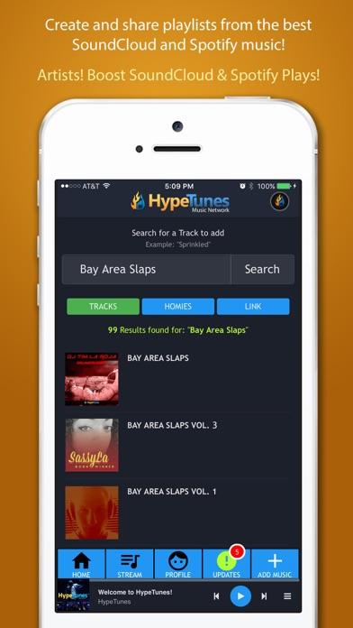 HypeTunes app image